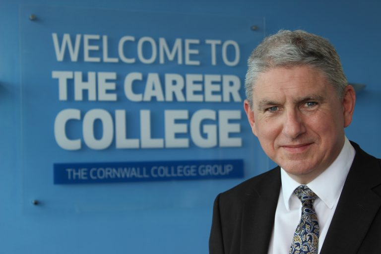 A photo of John Evans Principal & Chief Executive of The Cornwall College Group