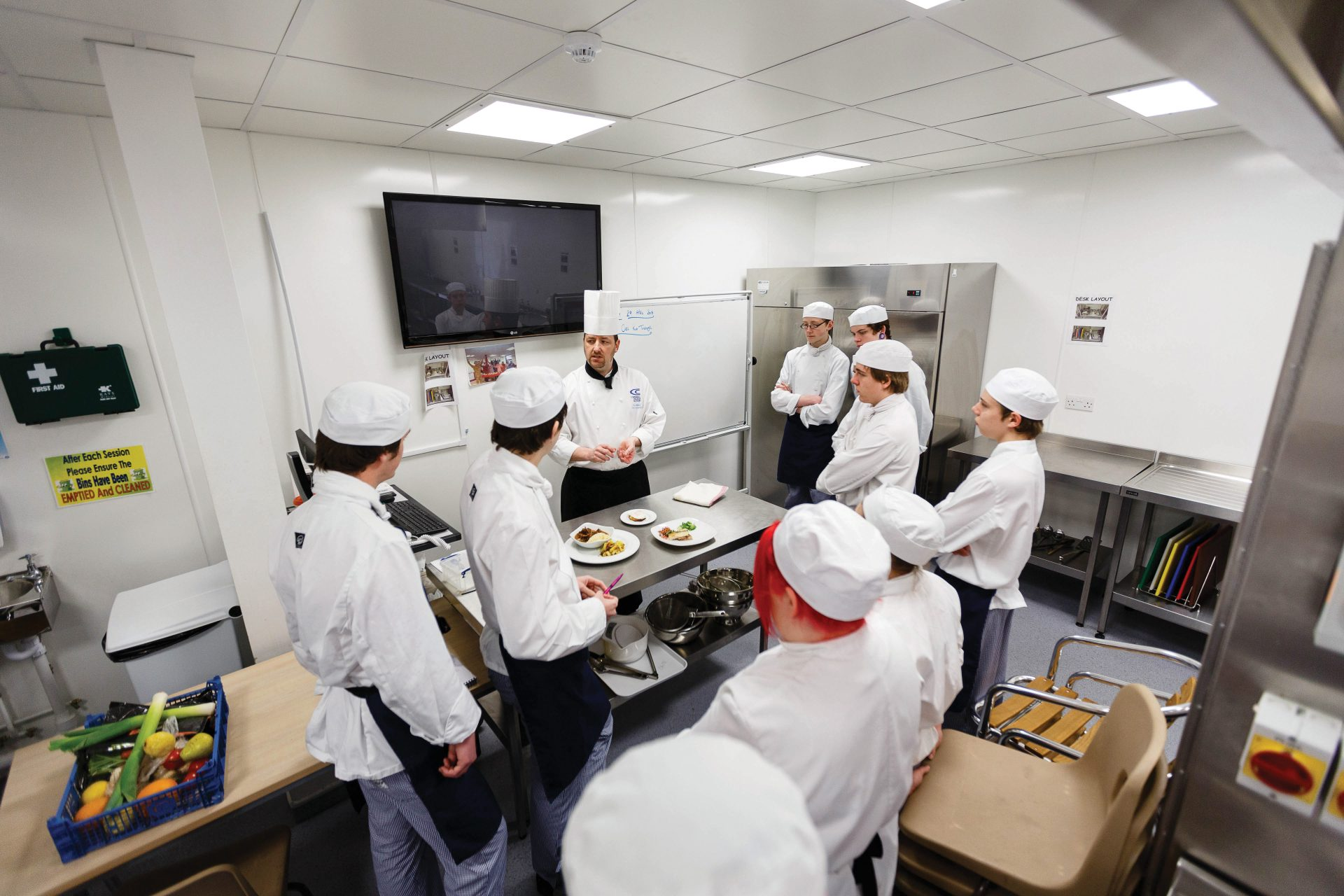 Commis Chef Apprentice with Zafiros