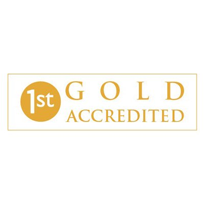 1 st Gold Accredited