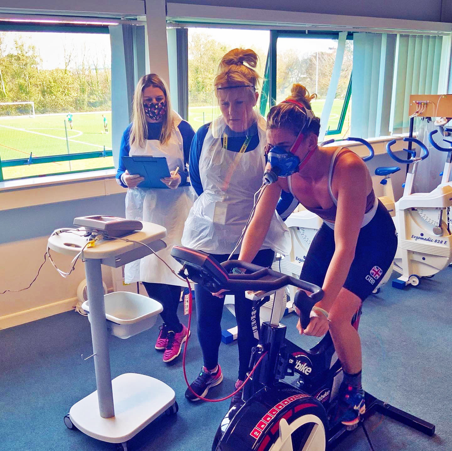Paralympic medallist inspires next generation on return to College