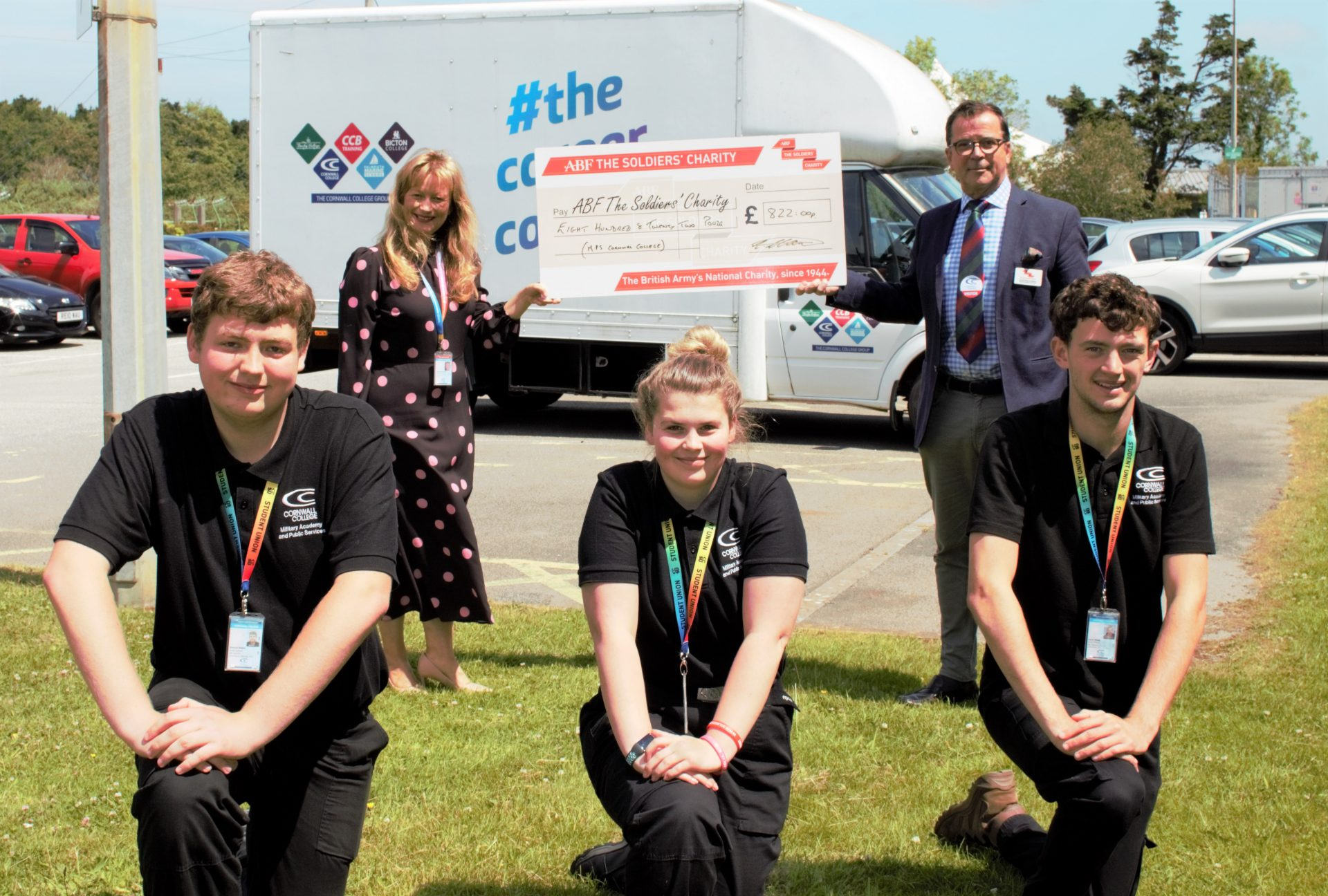 Armed forces charity 'exceptionally honoured' by student fundraising