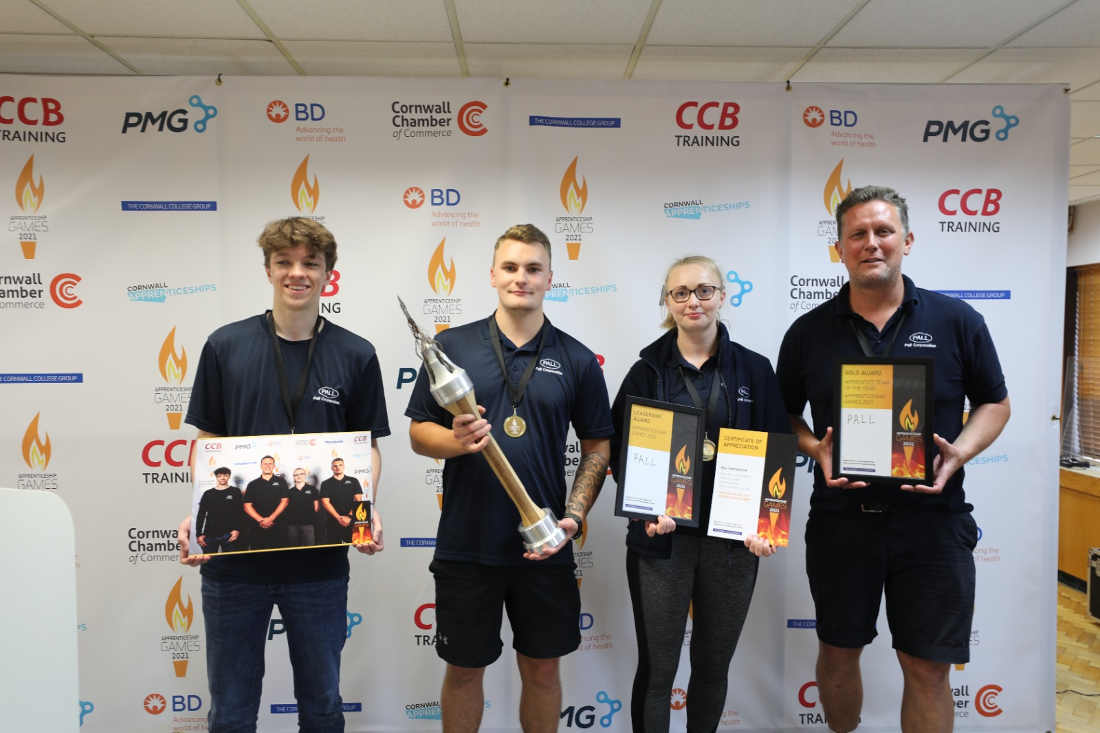 Aerospace apprentices take torch in coveted games