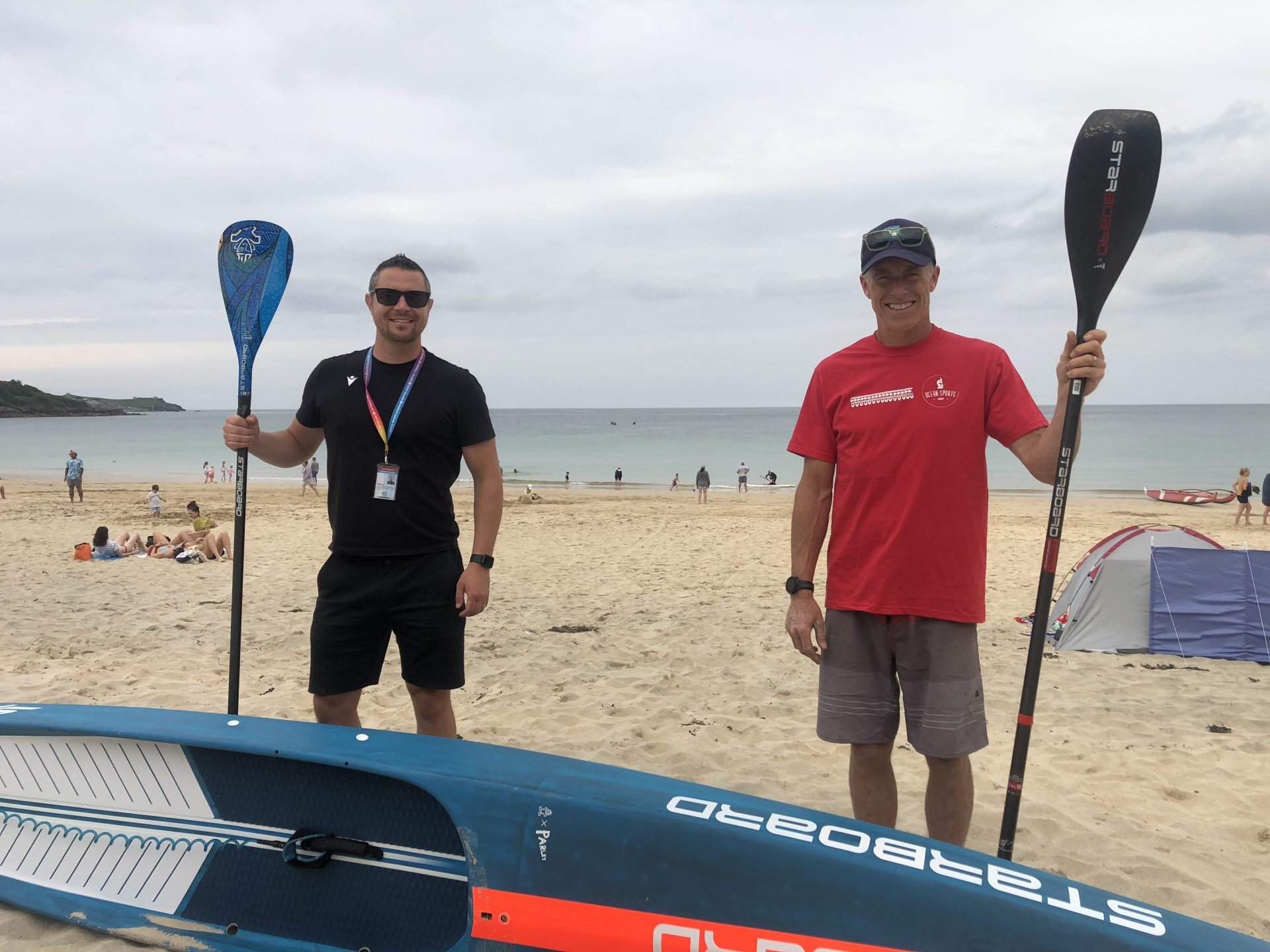 SUPing gets scientific at Cornwall College